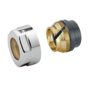 Copper pipe adaptor radiator valves