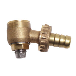 Valve device radiators in brass