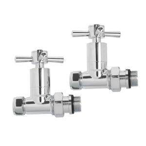 Quartz straight manual radiator valves