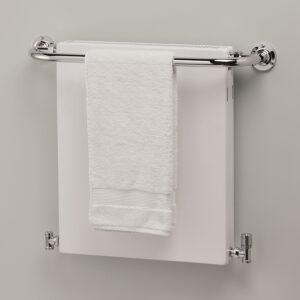 Panel bathroom towel rail