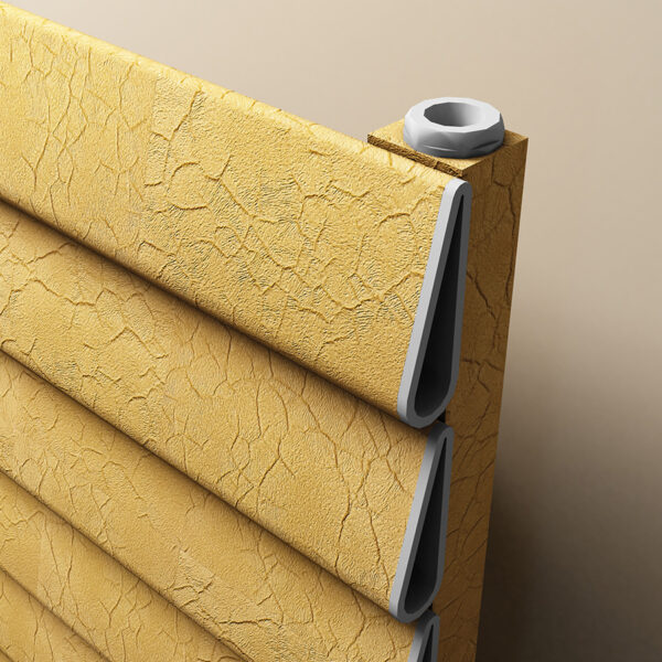 Aluminium radiator for the home
