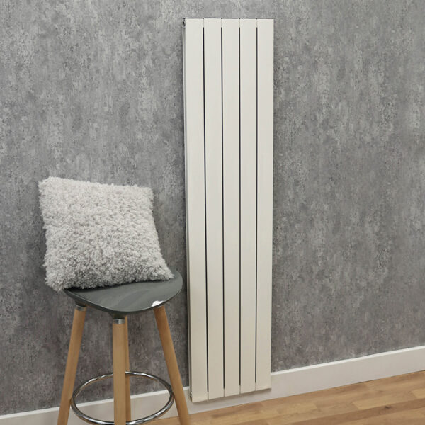 White radiator for living rooms and hallways