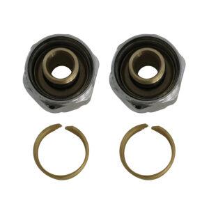 16mm PEX couplings (Pack of 2)