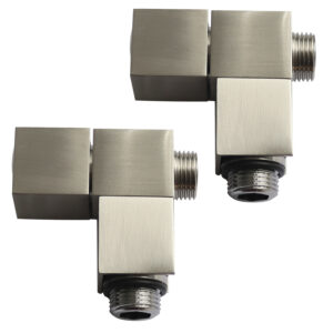 Cube manual angle radiator valves