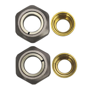"""3/4""""BSP x 15mm Copper Tube Connector In Brushed Matt Plated"""