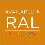 Available in any RAL Colour
